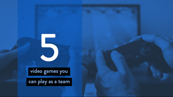 5 video games for remote teams
