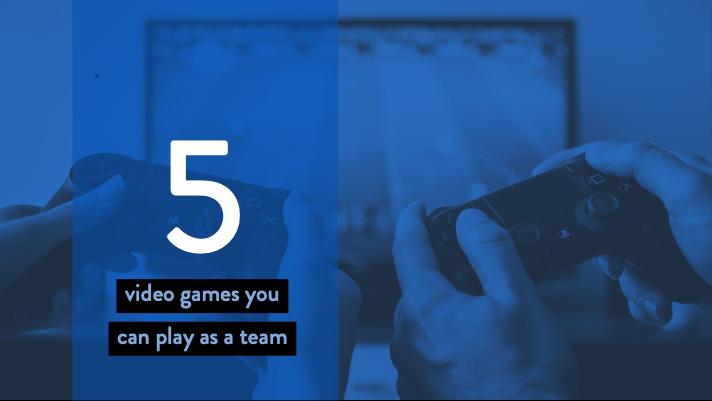 5 video games for remote teams